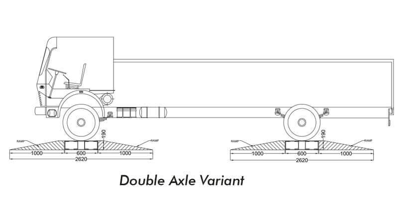 double axle variant